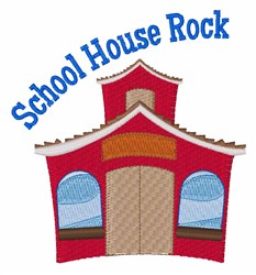 School House Rock embroidery design