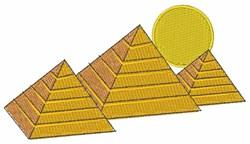 Egyptian Pyramids embroidery design