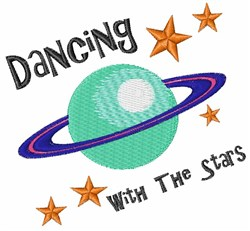 Dancing With Stars embroidery design