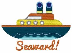 Seaward embroidery design