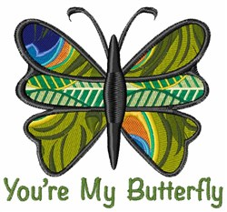 My Butterfly embroidery design