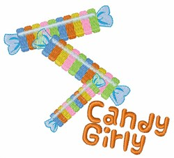 Candy Girl embroidery design