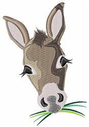 Donkey Head embroidery design