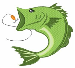 Catch Fish embroidery design