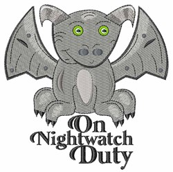 Nightwatch Duty embroidery design