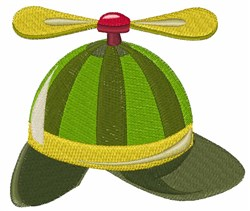 Helcopter Hat embroidery design