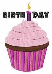 Birthday Candle embroidery design