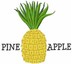 Pine Apple embroidery design