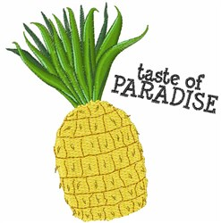 Taste Of Paradise embroidery design