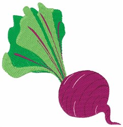 Radish embroidery design