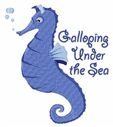 Under The Sea embroidery design