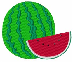 Watermelon embroidery design