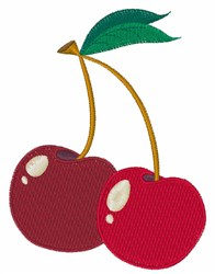 Red Cherries embroidery design