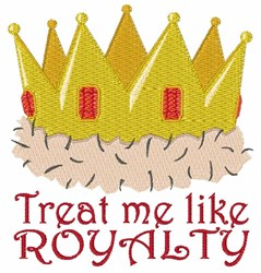 Like Royalty embroidery design