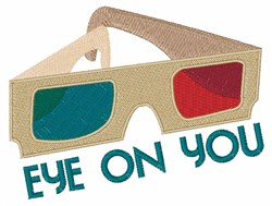 Eye On You embroidery design