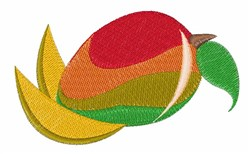 Mango Fruit embroidery design