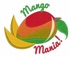 Mango Mania embroidery design