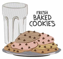 Fresh Cookies embroidery design