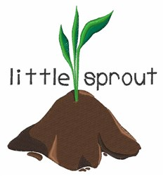 Little Sprout embroidery design