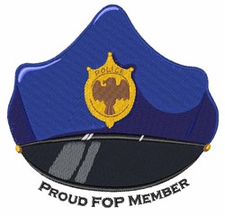 FOP Member embroidery design