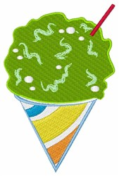 Sno Cone embroidery design