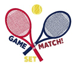 Game Match Set embroidery design
