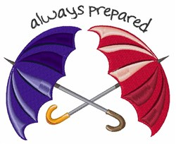 Always Prepared embroidery design