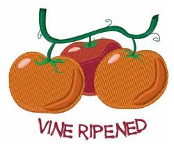 Vine Ripened embroidery design