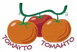 Tomayto Tomahto embroidery design