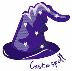 Casat A Spell embroidery design