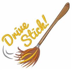 Drive Stick embroidery design