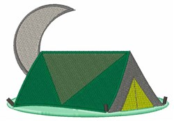 Campping Tent embroidery design