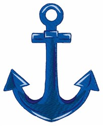 Boat Anchor embroidery design