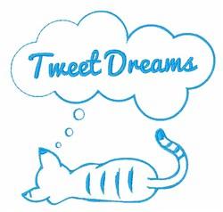 Tweet Dreams embroidery design