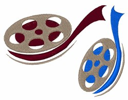 Film Reels embroidery design