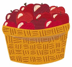 Apple Bushel embroidery design