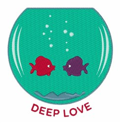 Deep Love embroidery design