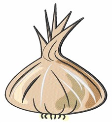 Garlic Bulb embroidery design