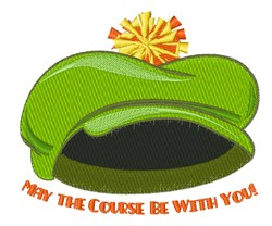 Course Be With you embroidery design