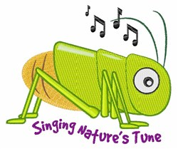 Natures Tune embroidery design