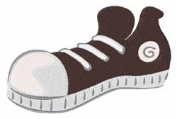 Sneaker embroidery design