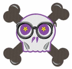 Skull & Crossbones embroidery design