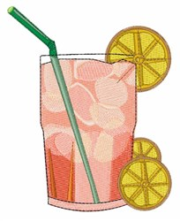 Iced Tea embroidery design