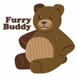 Furry Buddy embroidery design