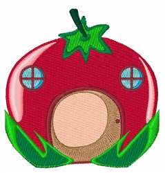 Tomato Home embroidery design