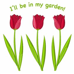 In My Garden embroidery design