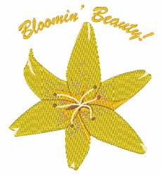 Bloomin Beauty embroidery design