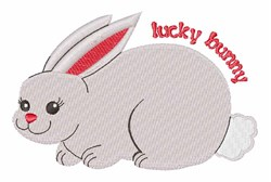 Lucky Bunny embroidery design