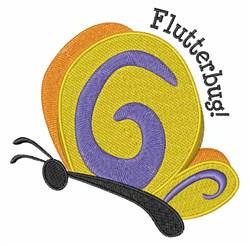 Flutterbug embroidery design