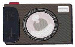 Camera embroidery design